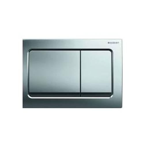 Picture of ACT PLATE ALPHA 30 D-FLUSH BRIGHT/CRM/PLATED