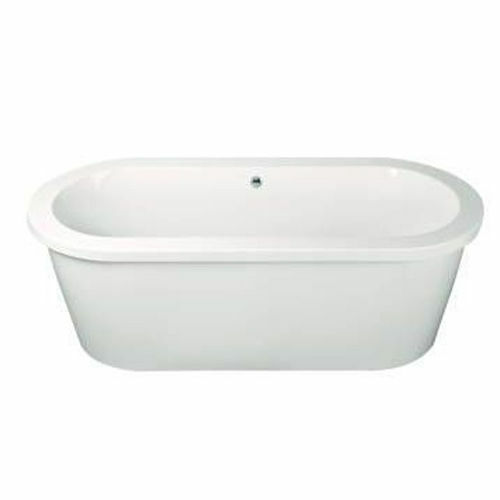 Picture of ANDORRA F/STAND OVAL BATH W/ SURROUND 1770 x 795