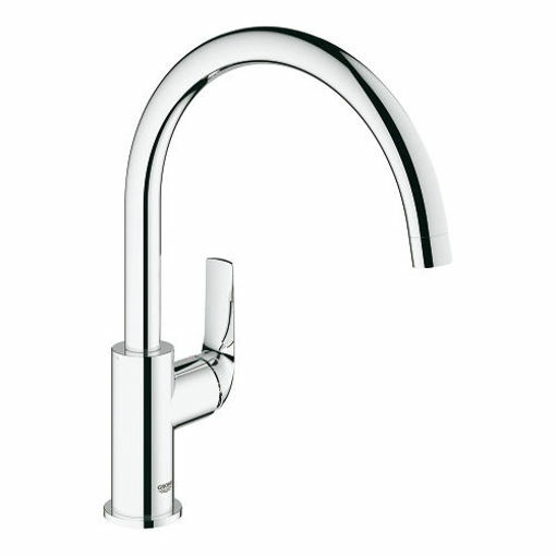Picture of BAUCURVE SINGLE LEVER SINK MIXER