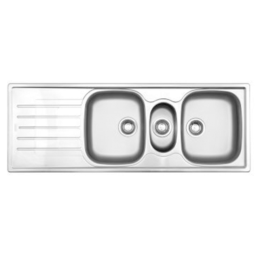 Picture of CASCADE CDX 671 DBLE BOWL & TIDY 1360x500x157/139