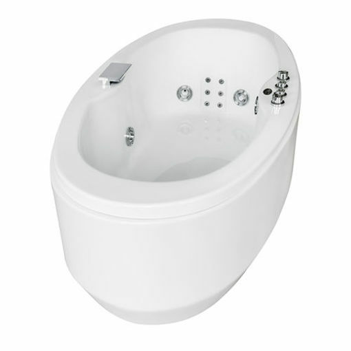 Picture of CLOUD OVAL ISLAND JET BATH