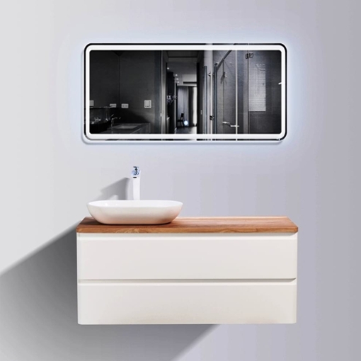 Picture of LAZIO 1200 DOUBLE DRAWER TOP & BASIN COMBO