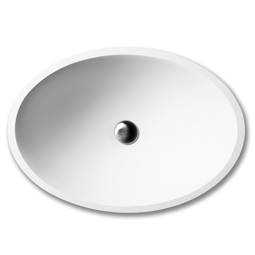 Picture of DADOquartz MANGO PILLAR BASIN WITH TAP HOLE GL WH