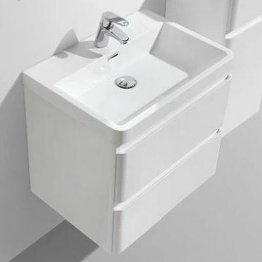 Picture of MILAN 600 DOUBLE DRAWER VANITY COMBO