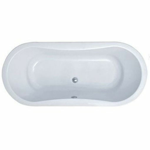 Picture of REFRESH F/STAND OVAL BATH W/ SURROUND 1800 x 800