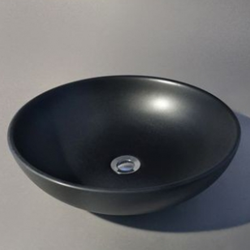 Picture of ROSSCO JAPANESE BLACK COMPOSITE BASIN 430 MM