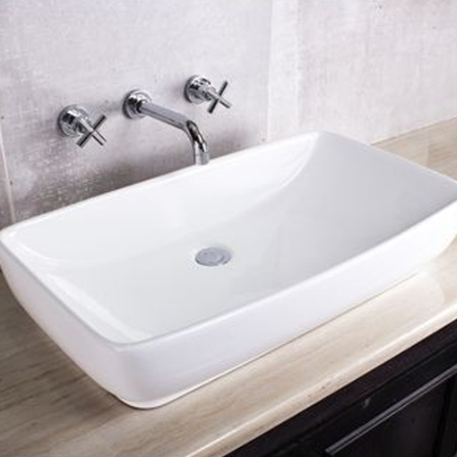 Picture of ROSSCO SOFT RECT CERAMIC BASIN 740 x 405 MM
