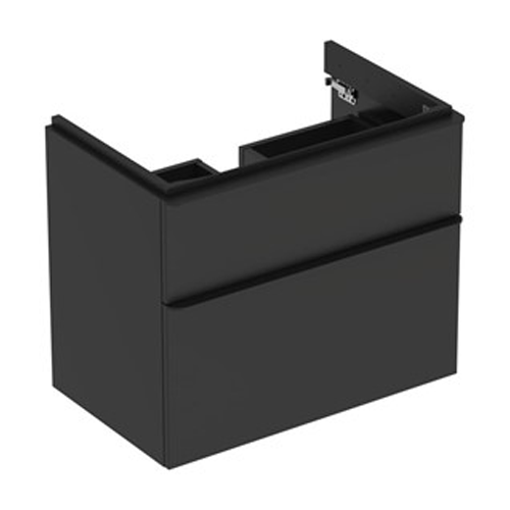 Picture of SMYLE SQ CABINET FOR HAND WASH BASIN 2 DRAWER 884 x 470 x 617 (LAVA)
