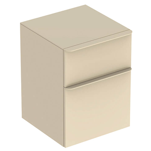 Picture of SMYLE SQUARE LOW CABINET 2 DRAWER 450 x 470 x 600 (SAND)