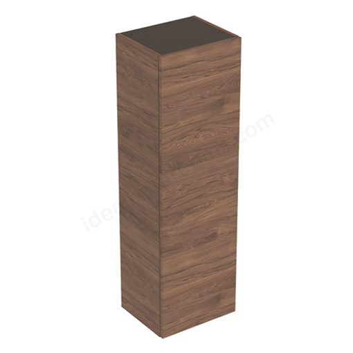 Picture of SMYLE SQUARE MED SIDE CABINET 1 DOOR 360 x 118 x 299 (HICKORY)