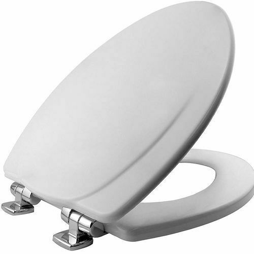 Picture of ICON TOILET SEAT SLIM O/LAP LID W/ METAL HINGES